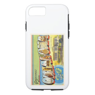 State of Oklahoma OK Old Vintage Travel Souvenir iPhone 7 Case