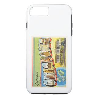 State of Oklahoma OK Old Vintage Travel Souvenir iPhone 7 Plus Case