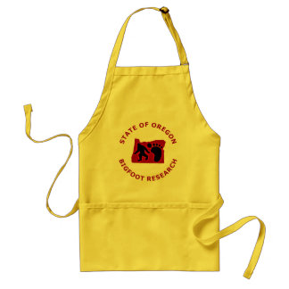 State of Oregon Bigfoot Research Adult Apron