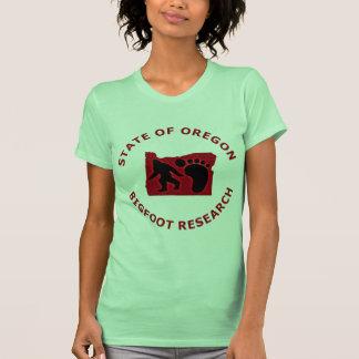 State of Oregon Bigfoot Research Shirt