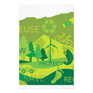State of Oregon Map Environment Eco Outline Stationery