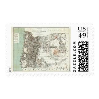State Of Oregon Postage Stamp