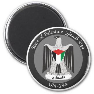 State of Palestine 2 Inch Round Magnet