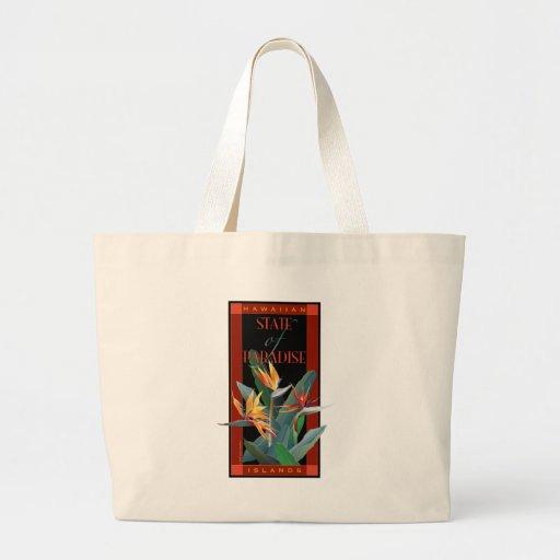 State of Paradise Jumbo Tote Bag