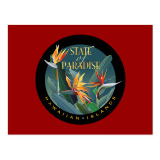 State of Paradise Postcard