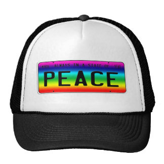State of Peace Trucker Hat