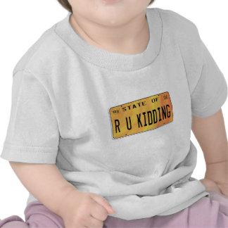 State of R U Kidding Tee Shirt