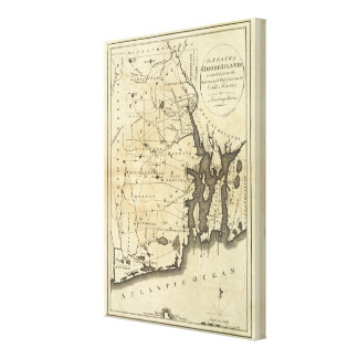State of Rhode Island Canvas Print
