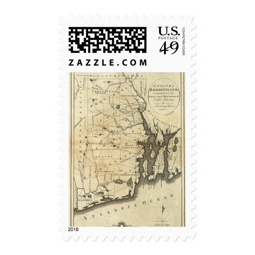 State of Rhode Island Postage Stamps