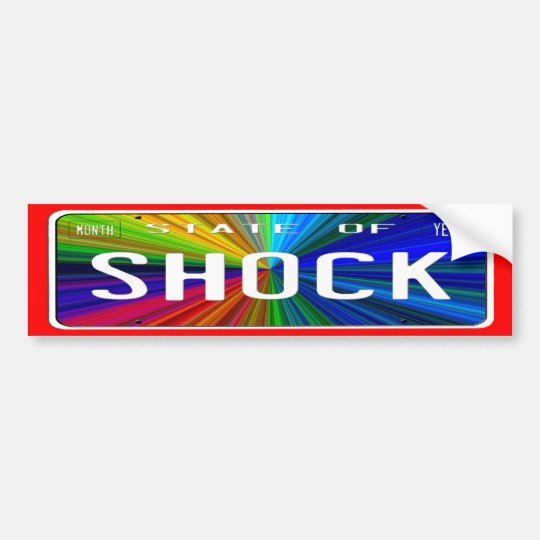 State of Shock Bumper Sticker
