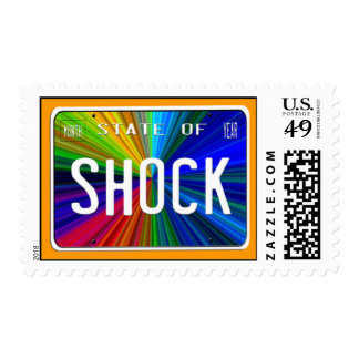 State of Shock Postage