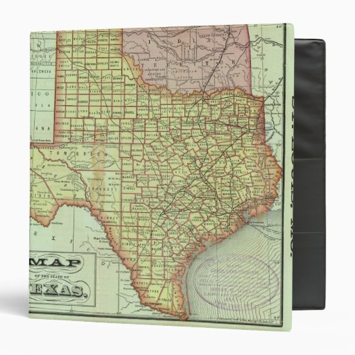 State of Texas 3 3 Ring Binders