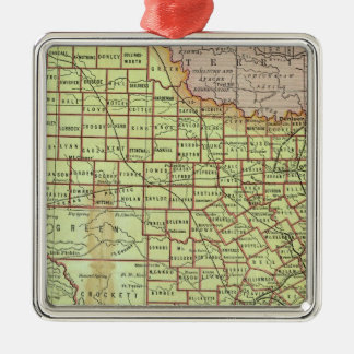 State of Texas 3 Christmas Ornaments