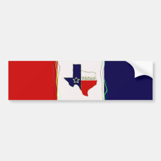 STATE OF TEXAS BUMPER STICKER