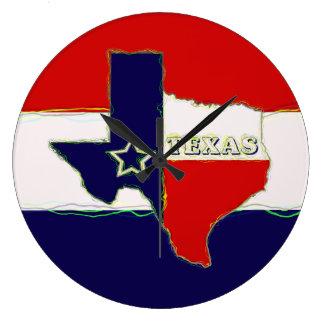 STATE OF TEXAS WALLCLOCK