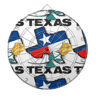 State of Texas Dart Board
