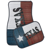State of Texas Flag Car Mat