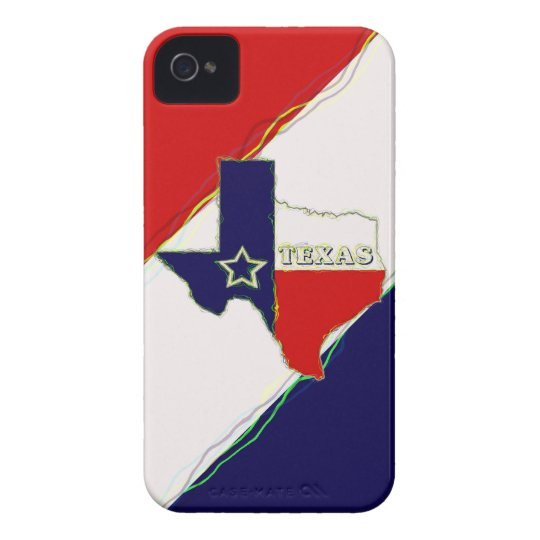 STATE OF TEXAS iPhone 4 Case-Mate CASE
