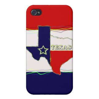 STATE OF TEXAS iPhone 4 CASES