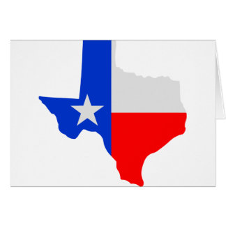State of Texas Lone Star Greeting Cards