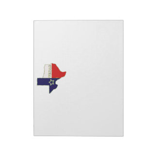 STATE OF TEXAS NOTEPAD