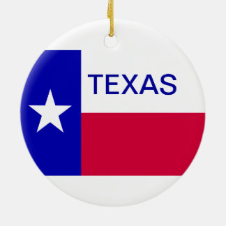 State of Texas Ornaments