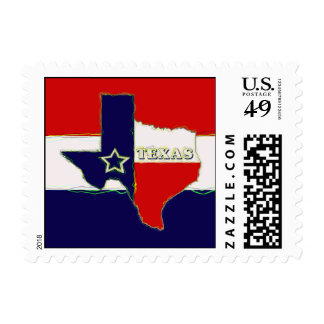 STATE OF TEXAS POSTAGE STAMP