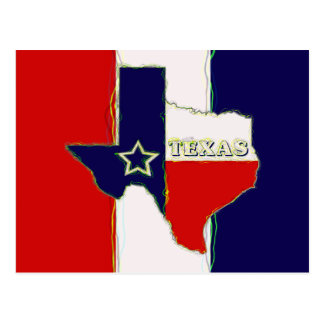 STATE OF TEXAS POST CARD