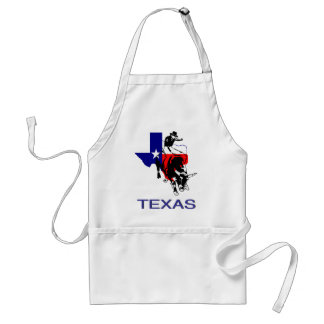 State of Texas Rodeo Bull Rider Adult Apron