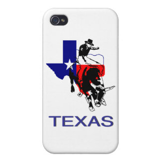 State of Texas Rodeo Bull Rider Covers For iPhone 4