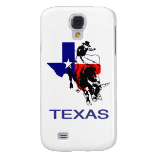 State of Texas Rodeo Bull Rider Galaxy S4 Cases