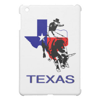 State of Texas Rodeo Bull Rider iPad Mini Cover