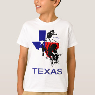 State of Texas Rodeo Bull Rider T-Shirt