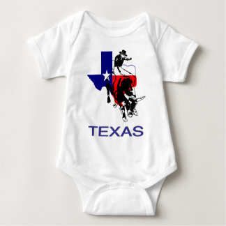 State of Texas Rodeo Bull Rider T Shirts