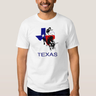 State of Texas Rodeo Bull Rider T-shirts