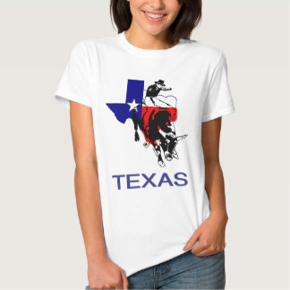 State of Texas Rodeo Bull Rider Tee Shirts