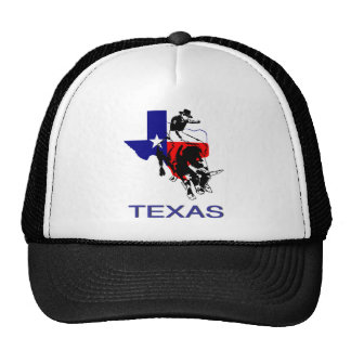 State of Texas Rodeo Bull Rider Trucker Hat