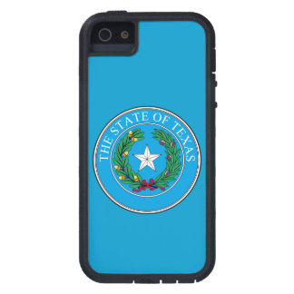 State of Texas Seal/Blue Case For iPhone SE/5/5s
