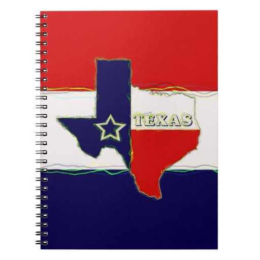 STATE OF TEXAS SPIRAL NOTE BOOK