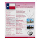 State of Texas, TX Posters