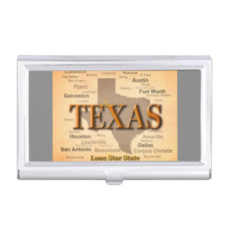 Texas Star Business Card Holders & Cases