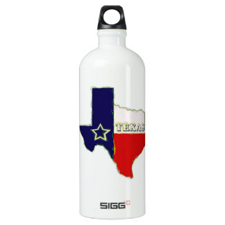 STATE OF TEXAS WATER BOTTLE