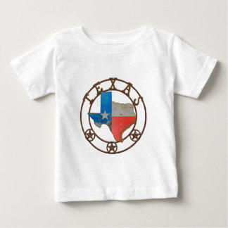 State of Texas Wrought Iron Baby T-Shirt