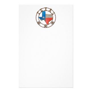 State of Texas Wrought Iron Stationery