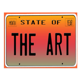 State of The Art Postcard
