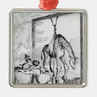 State of the Giraffe, 1829 Metal Ornament