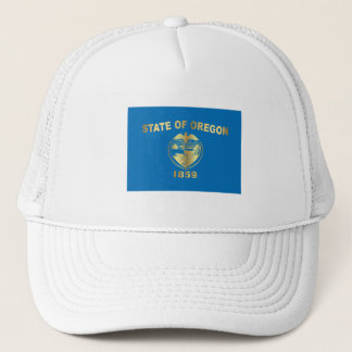 State of the Oregon flag Trucker Hat