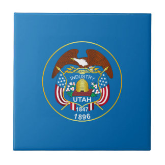 State of Utah flag Tile