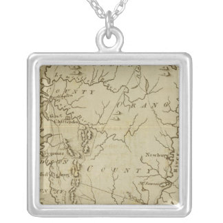 State of Vermont Drawn and Engraved Necklace