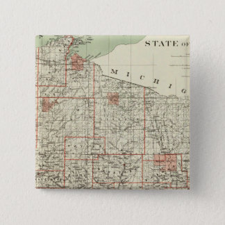 State of Wisconsin Pinback Button